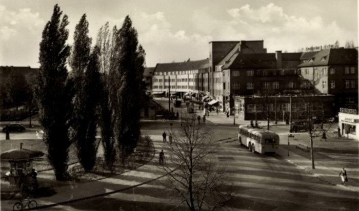 Cafe Telschow, vor 1965
