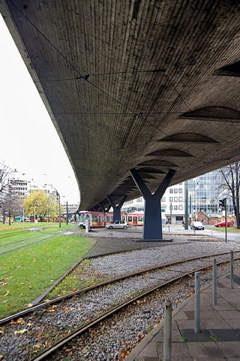 Der Tausendfüßler in Düsseldorf