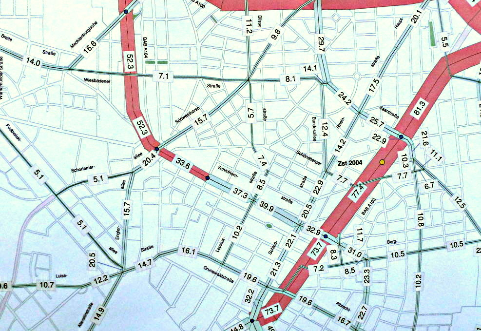 Verkehrszählung 2009